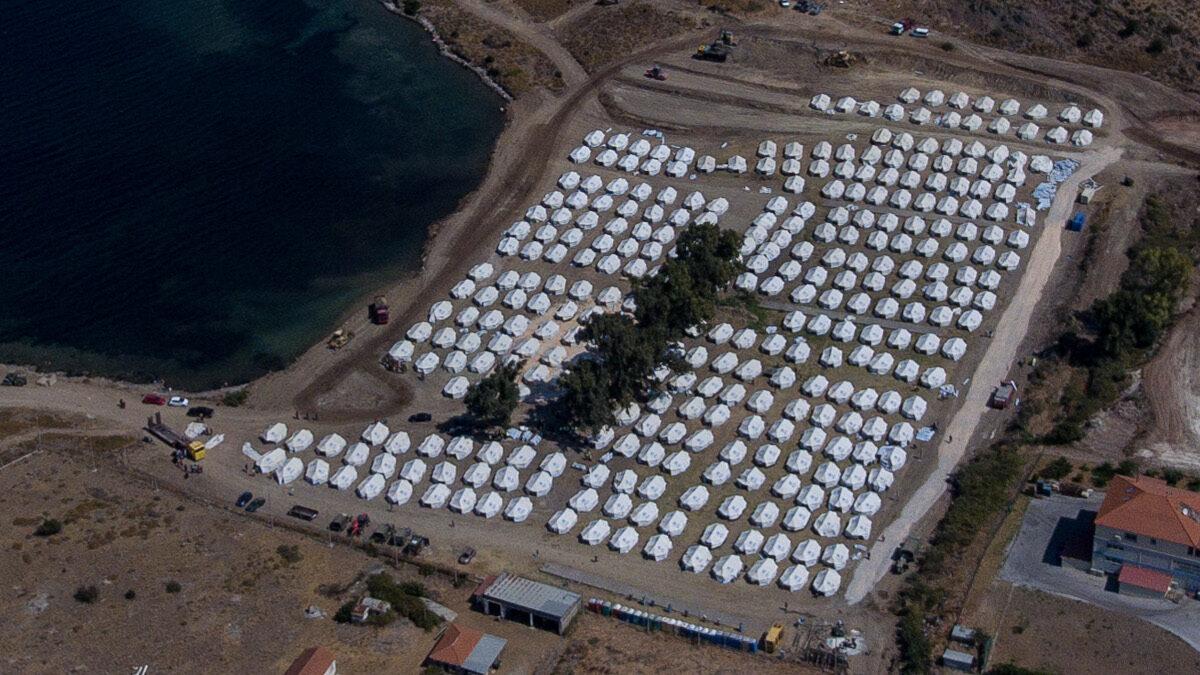 Το στρατόπεδο προσφύγων στο Καρά Τεπέ της Λέσβου - Σεπτέμβρης 2020