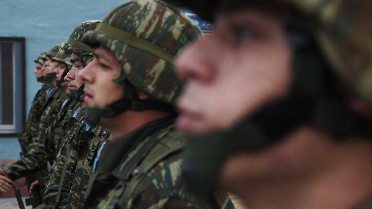 Στρατιώτες από μονάδες της Λήμνου (88 ΣΔΙ) - Φυλάκιο Ζαβαλάκι