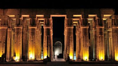 Ο Ναός Λούξορ στην Αίγυπτο