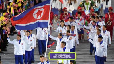 Η Ολυμπιακή Ομάδα της Βόρειας Κορέας στους θερινούς Ολυμπιακούς Αγώνες του Ρίο 2016