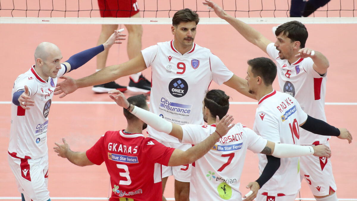 Volley League: Η ομάδα του Φοίνικα Σύρου