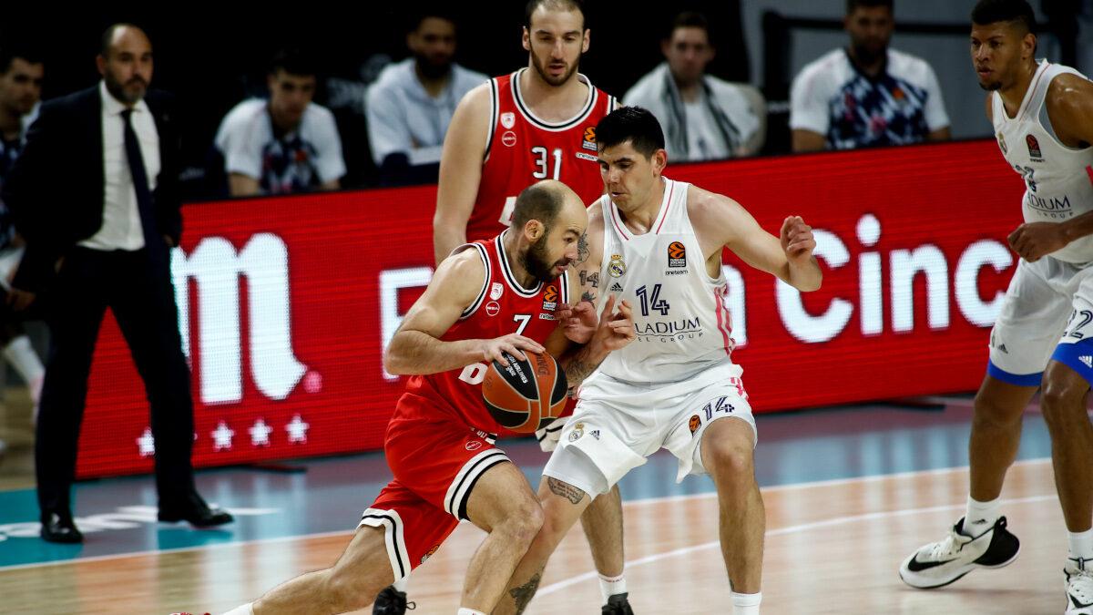 EuroLeague: Ρεάλ - Ολυμπιακός