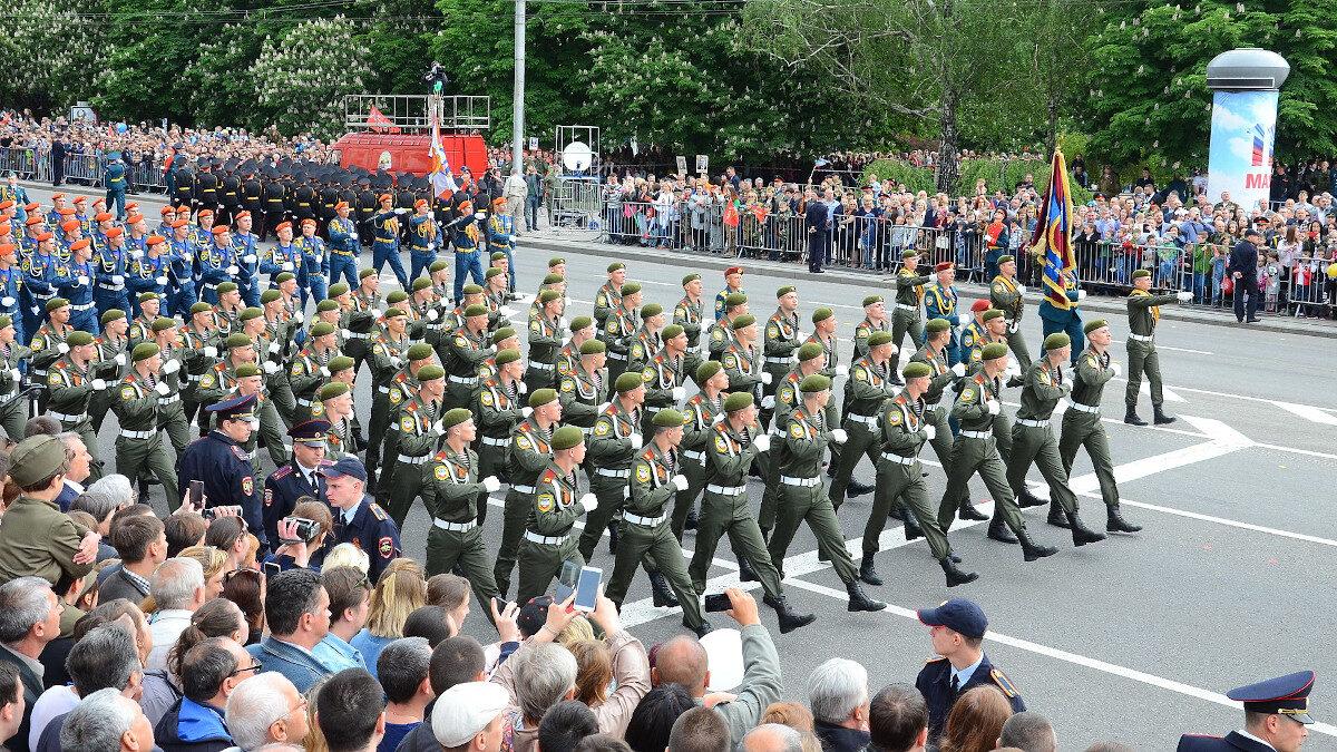 Παρέλαση στο Ντονέσκ το 2018 - Αποσχισθείς επαρχίες από την Ουκρανία