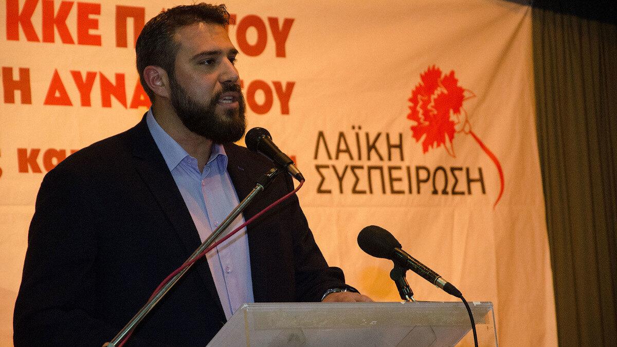 Βαγγέλης Σίμος, πρώην δήμαρχος Πετρούπολης