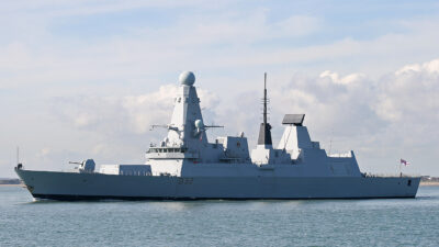 Μ. Βρετανία - Αγγλία - Αντιτορπιλικό (Τ42) HMS DARING (D32) του Πολεμικού Ναυτικού του Ηνωμένου Βασιλείου