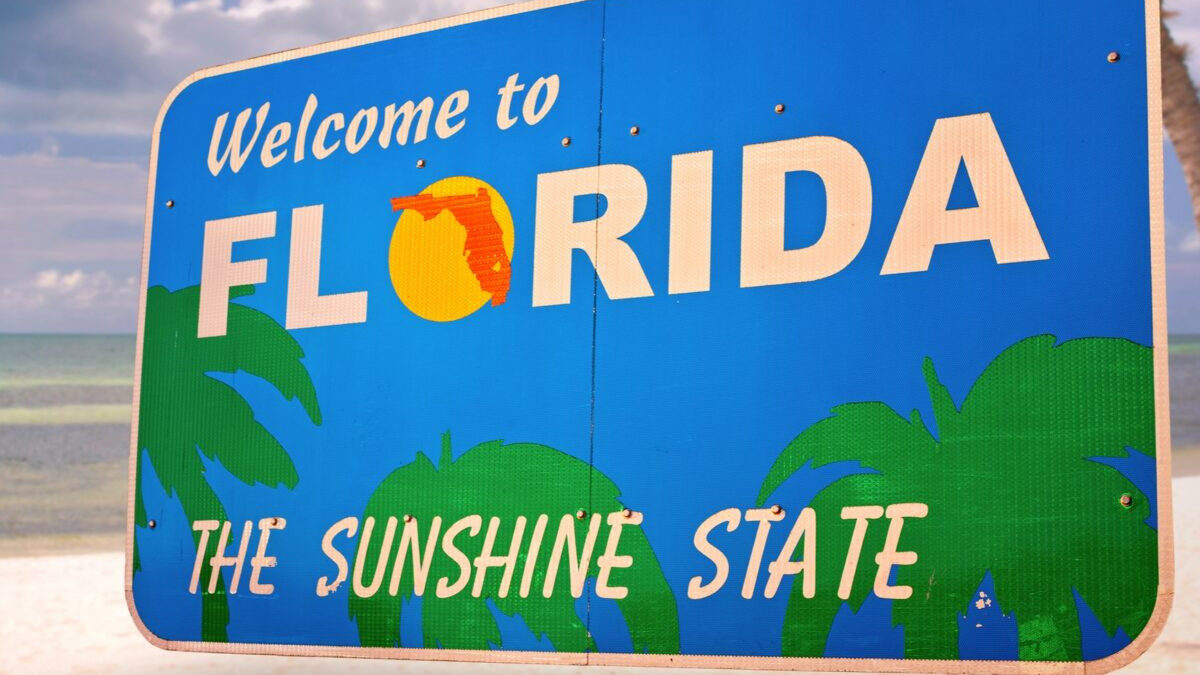Από παλιότερη τουριστική διαφημιστική καμπάνια της Πολιτείας της Φλόριντα των ΗΠΑ