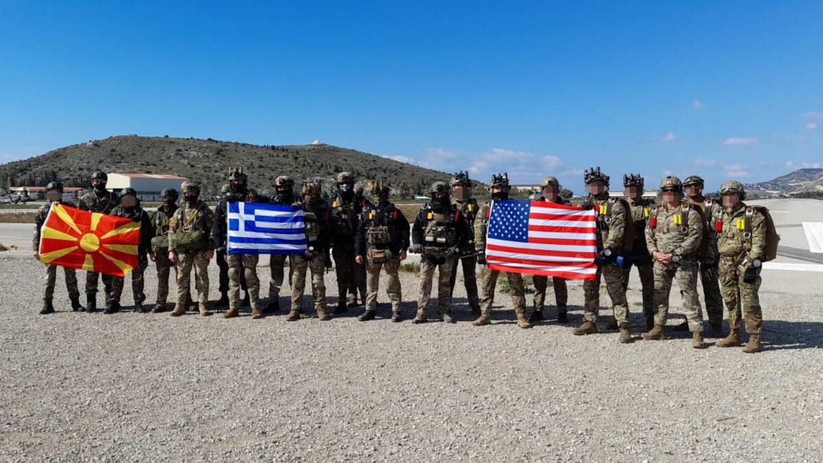 Δυνάμεις Ειδικών Επιχειρήσεων (ΔΕΕ) της Ελλάδας, των ΗΠΑ και της Βόρειας Μακεδονίας συνεκπαιδεύτηκαν (16-26 Μάρτη 2021) σε Αττική και Λάρισα
