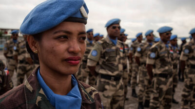 Κυανόκρανοι του ΟΗΕ στην Αϊτή το 2015