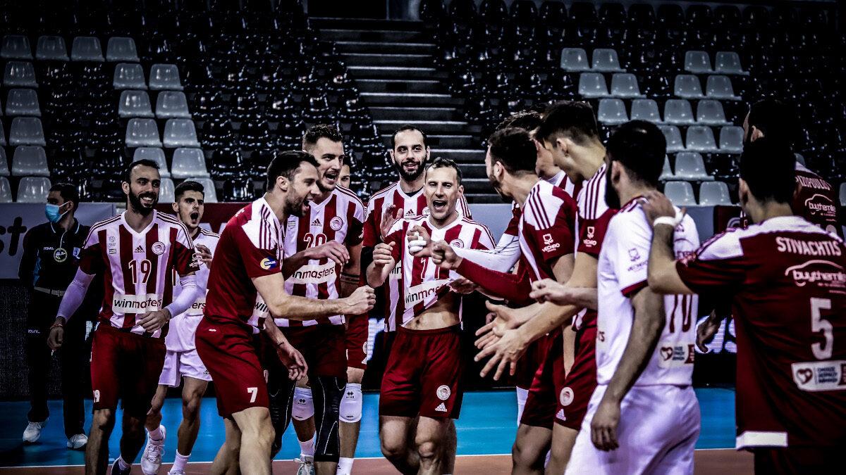 Volley League: Πρωταθλητής ο Ολυμπιακός
