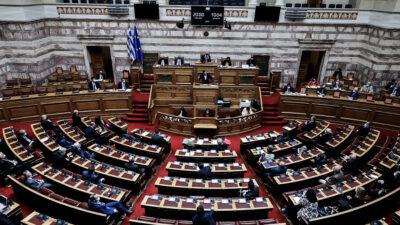 Συζήτηση στη Βουλή για την πανδημία, 2-04-21