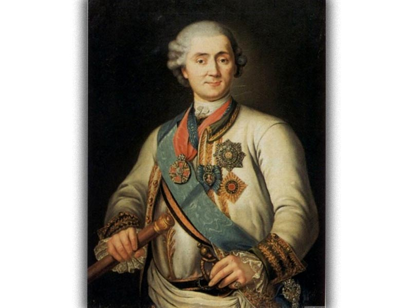 Ελλάδα - Επανάσταση, 1770 - Ορλωφικά - Θεόδωρος Ορλώφ