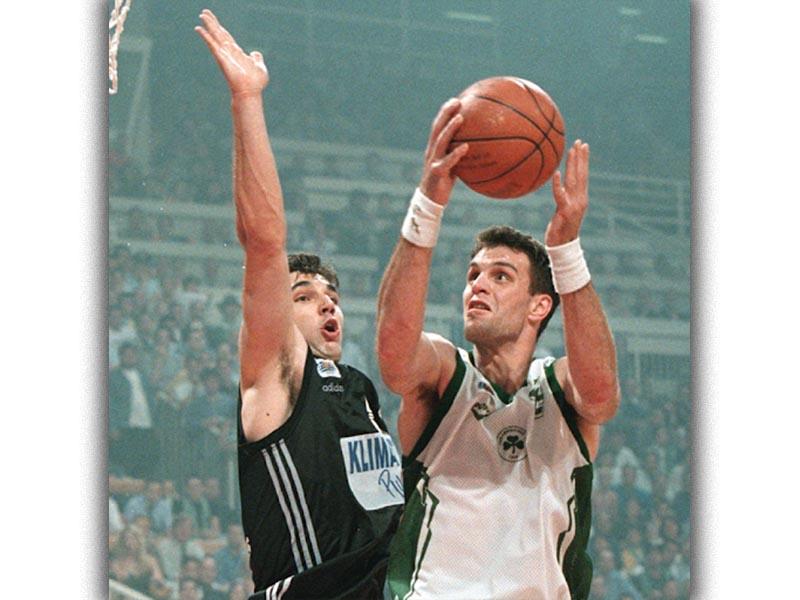 Αθλητισμός - Μπάσκετ - Φραγκίσκος Αλβέρτης - Ντέγιαν Μποντιρόκγα - ΠΑΟ - ΠΑΟΚ - 1998