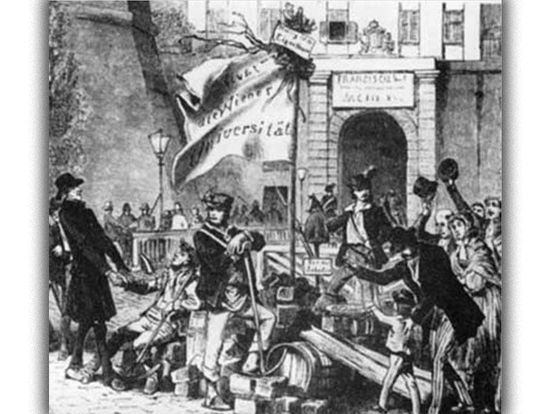 Ευρώπη - αστική επανάσταση, 1848