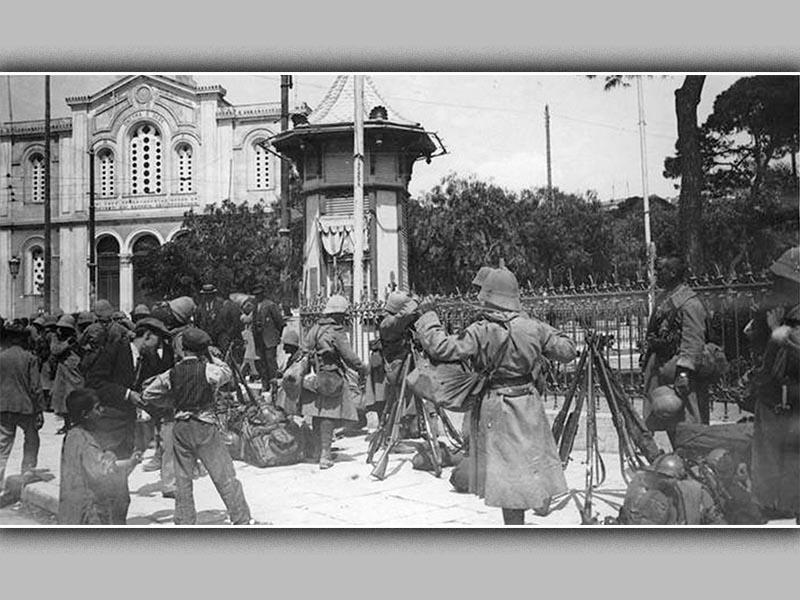 Ελλάδα - Αντάντ - απόβαση στον Πειραιά, 1916