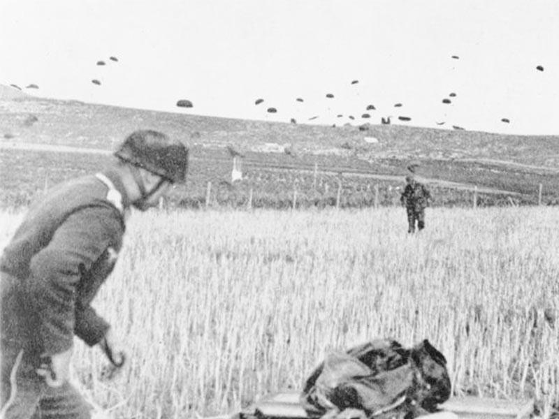 Β'ΠΠ - Ελλάδα - Μάχη της Κρήτης - Κατάληψη αεροδρομίου του Μάλεμε