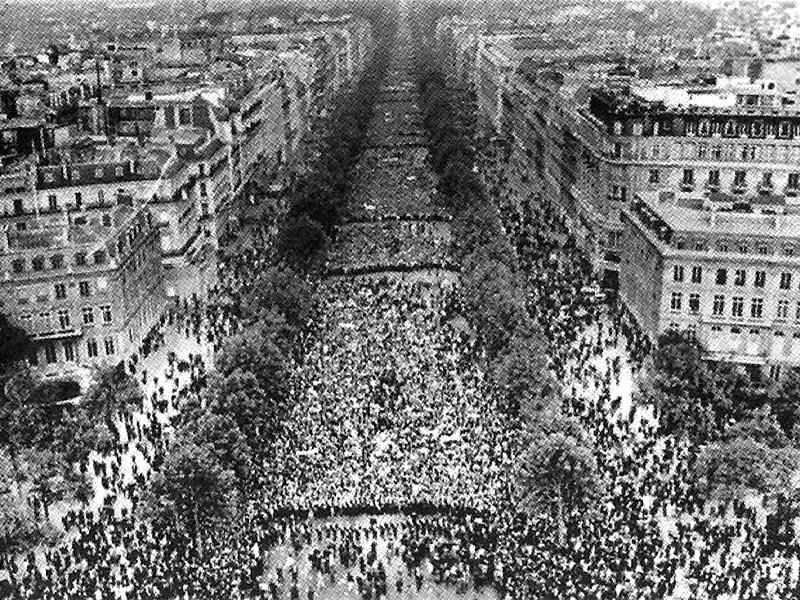 Γαλλία -Μάης 1968
