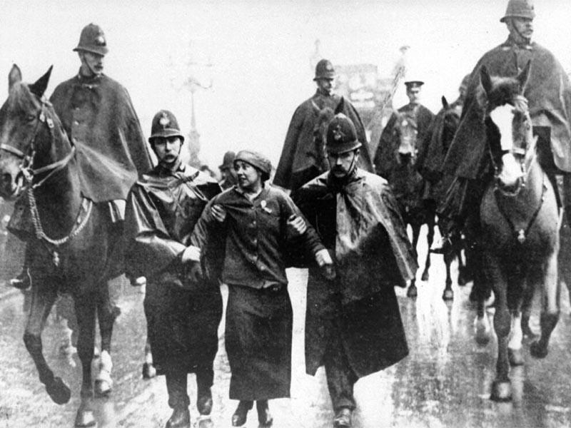 Γυναικείο κίνημα - Σίλβια Πάνκχερστ
