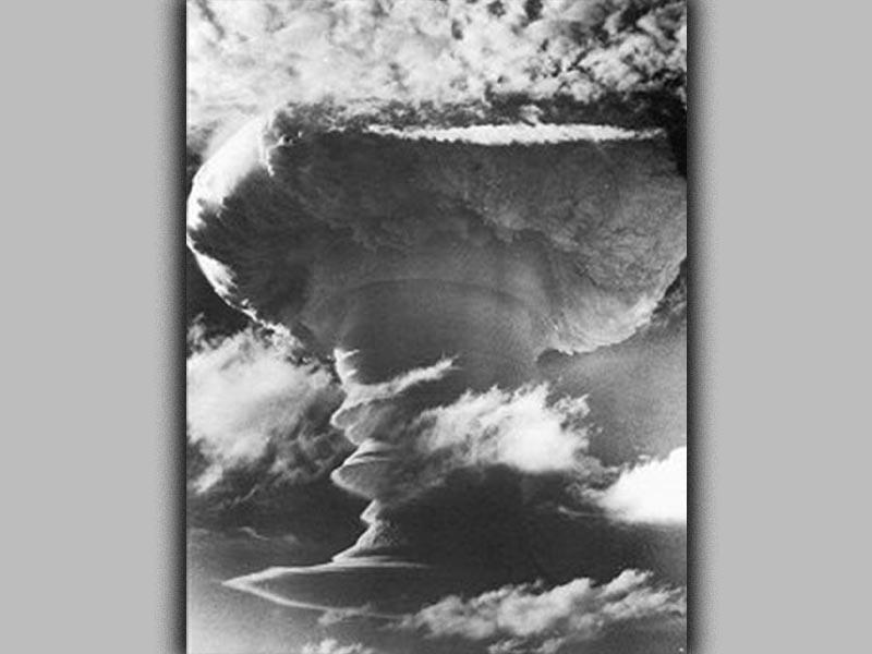 Μεγάλη Βρετανία - βόμβα υδρογόνου - δοκιμή, 1957