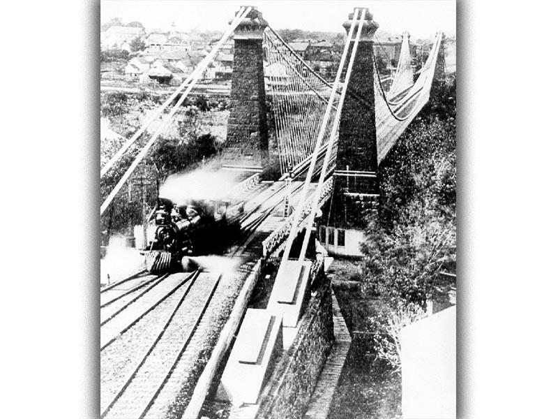 Αρχιτεκτονική - γέφυρα του Νιαγάρα