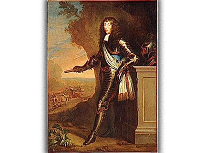Γαλλία - Τριακονταετής Πόλεμος - Λουδοβίκος Β' των Βουρβόνων