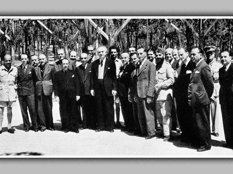 Β'ΠΠ - Ελλάδα - Σύσκεψη του Λιβάνου, 1944