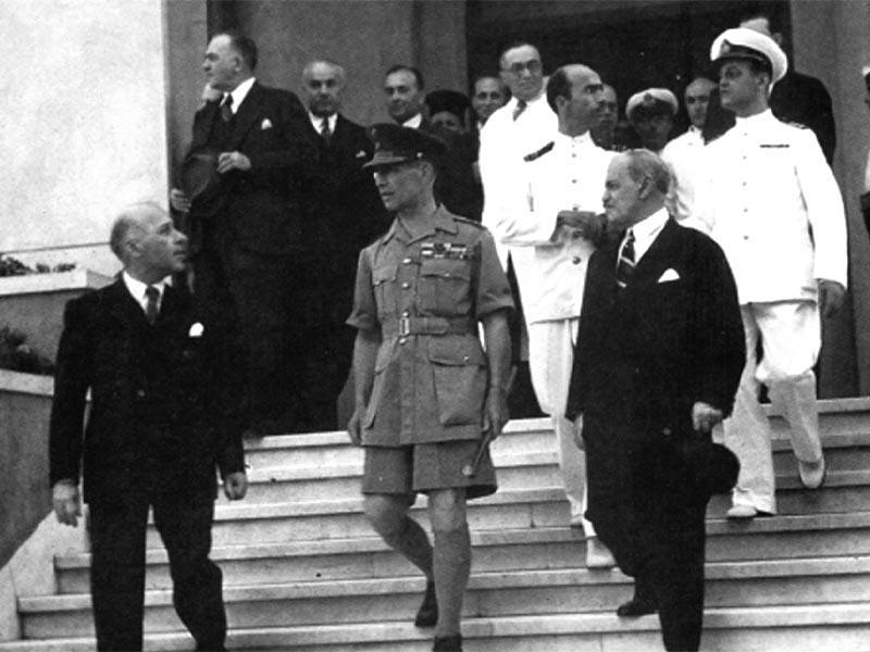 Ελλάδα - Κατοχή - κυβέρνηση Καΐρου - Γεώργιος Β΄
