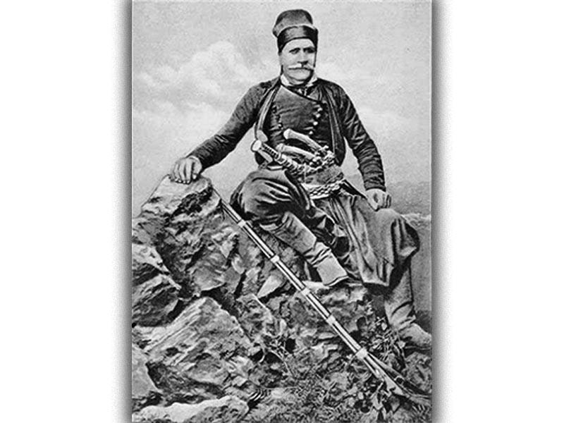 Κρήτη - Επανάσταση - Καπετάν Κόρακας