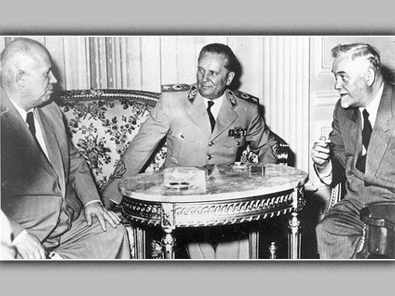 ΕΣΣΔ - ΣΟΔ Γιουγκοσλαβίας - Χρουτσόφ - Τϊτο