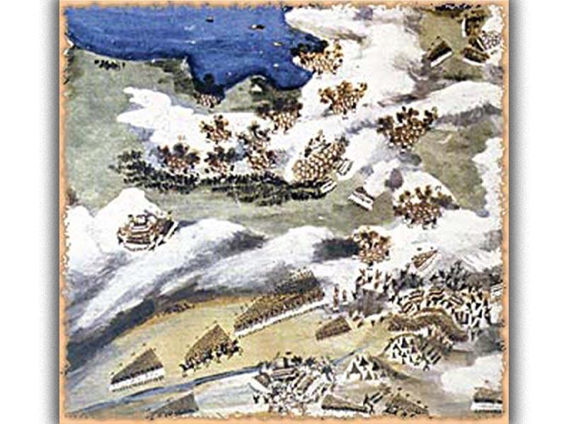 Ελληνική Επανάσταση 1821 - μάχη της Γραβιάς