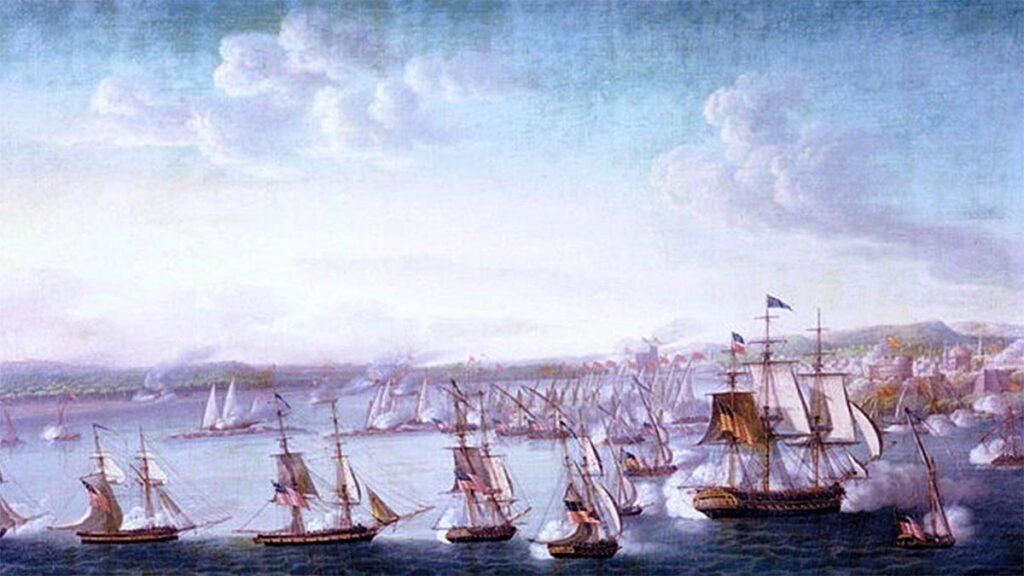ΗΠΑ - Πειρατές της Μπαρμπαριάς - Πόλεμος 1801-1805