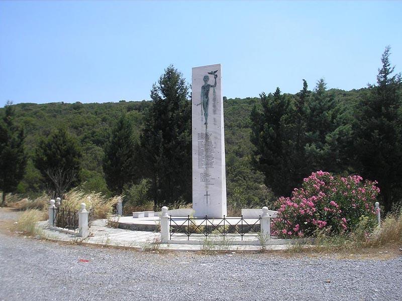 Β'ΠΠ - Ελλάδα - κατοχή - Μονοδένδρι Λακωνίας - εκτέλεση 118 Ελλήνων, 26-11-1943