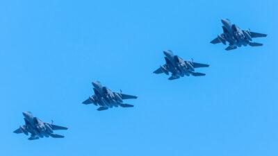 Επιχειρησιακή Συνεκπαίδευση με την Πολεμική Αεροπορία των ΗΠΑ «POSEIDON'S RAGE»