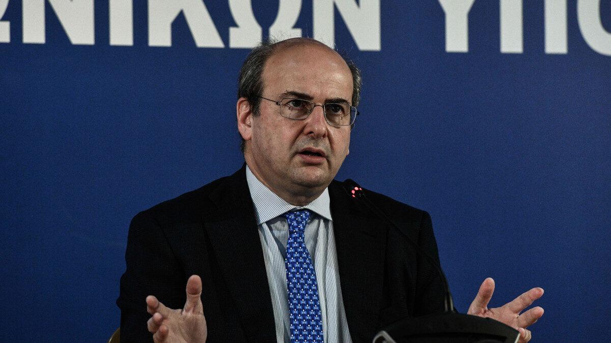 Συνέντευξη τύπου του υπουργού Εργασίας, Κώστα Χατζηδάκη και παρουσίαση του νέου νομοσχεδίου για τα Εργασιακά