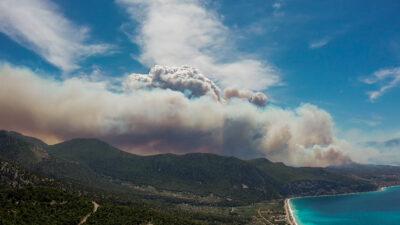 Πυρκαγιά στο Σχινό Κορινθίας 20/05/2021