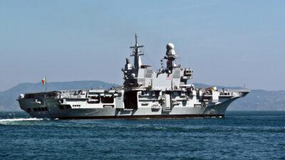 Το Αεροπλανοφόρο ITS Cavour (CVH 550) του Πολεμικού Ναυτικού της Ιταλίας