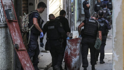 Επιχείρηση της αστυνομίας με 24 νεκρούς σε φαβέλα στο Ρίο ντε Τζανέιρο της Βραζιλίας