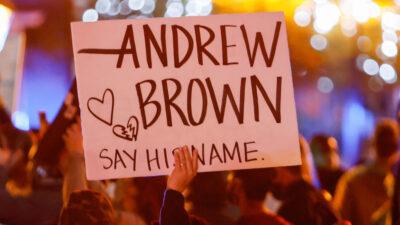 Διαμαρτυρία για το θάνατο του Andrew Brown από πυρά αστυνομικών