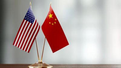σημαία των ηπα και σημαία της κίνας