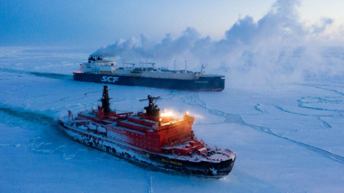 Υποστήριξη από ρωσικό πυρινοκίνητο παγοθραυστικό της Rosatom - Βόρειος Παγωμένος Ωκεανός