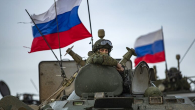 Ρωσικά στρατεύματα στα σύνορα με την Ουκρανία