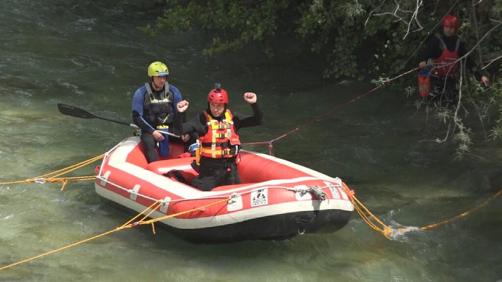 Εκπαιδευτική άσκηση της ΕΜΑΚ (Πυροσβεστική) - Ποταμός Άραχθος