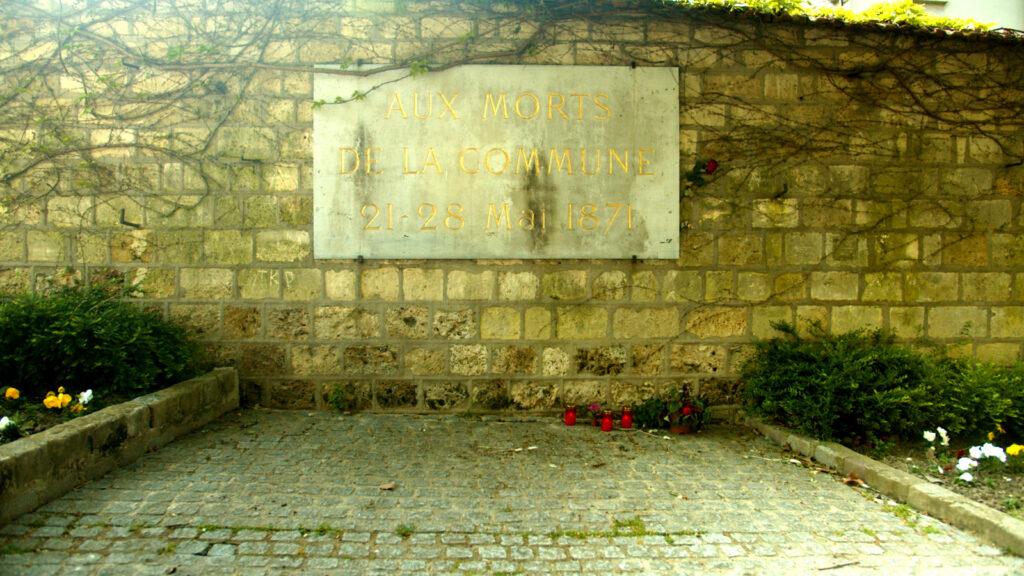 Μνημείο στο Παρίσι σήμερα για τους νεκρούς Κομμουνάρους της «Ματωμένης Βδομάδας» 21-28/5/1871
