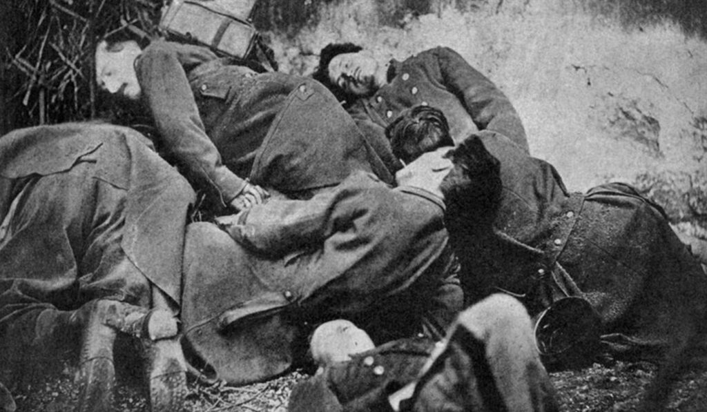 Εκτελεσμένοι Κομμουνάροι - Παρίσι Μάης 1871