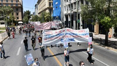 Φοιτητικό συλλαλητήριο στην Αθήνα 27/05/2021