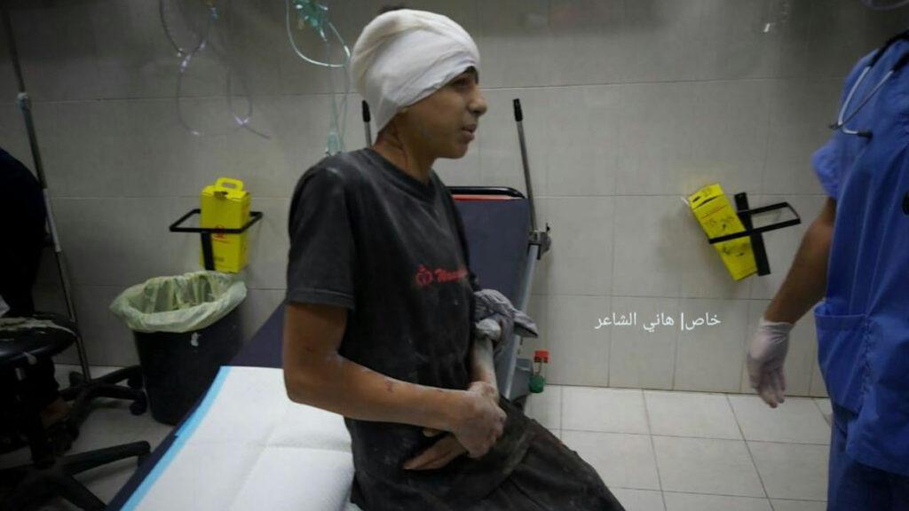 Παλαιστίνη: Παιδί τραυματισμένο από τις επιθέσεις του Ισραήλ στη Λωρίδα της Γάζας