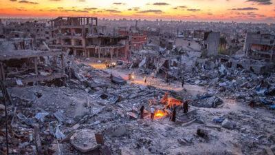 Παλαιστίνη: Ξημέρωμα στη Λωρίδα της Γάζας 20/5/2021