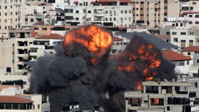 Βομβαρδισμοί στη Λωρίδα της Γάζας