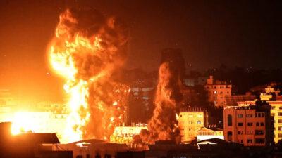 Νυχτερινοί βομβαρδισμοί στη Λωρίδα της Γάζας από το Ισραήλ