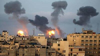 Ισραηλινοί βομβαρδισμοί στην κατεχόμενη Παλαιστίνη / Γάζα - Μάης 2021
