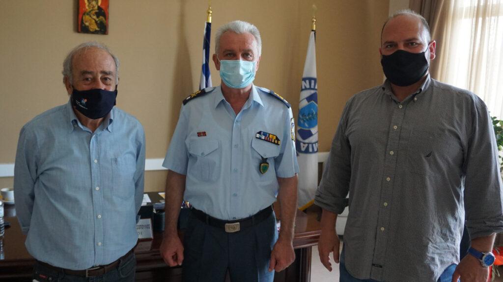 Συνάντηση ΚΚΕ με τον Περιφερειακό Διευθυντή Αστυνομίας Ιονίων Νήσων Ταξίαρχο Θεόδωρο Αθανασόπουλο